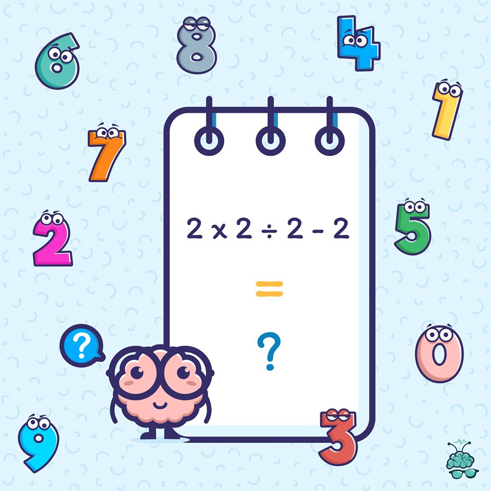 Time for today's question. Let's see if you can solve this baffling math puzzle?