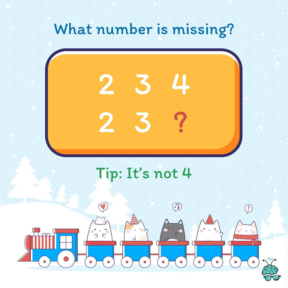 Can you guess the missing number in the sequence? Share your answers in the comment. This should be easy for you now.