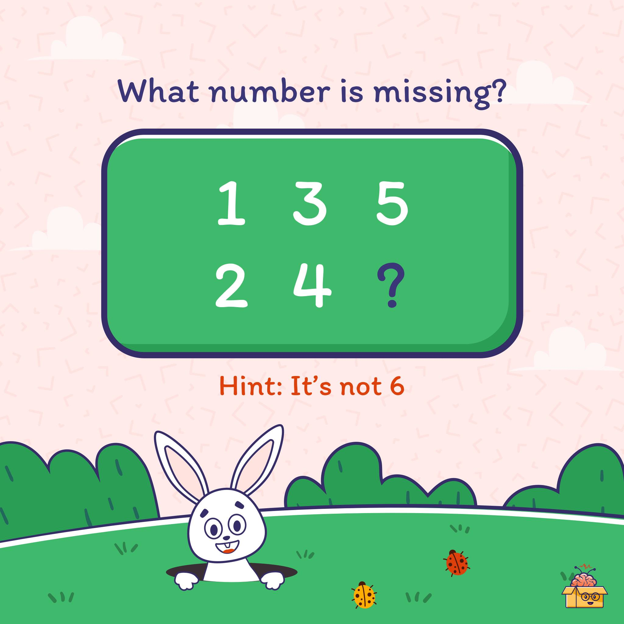 This puzzle is an absolute head-scratcher (although it's a really simple one). So can you guess which number is missing? Quick, share your answers.