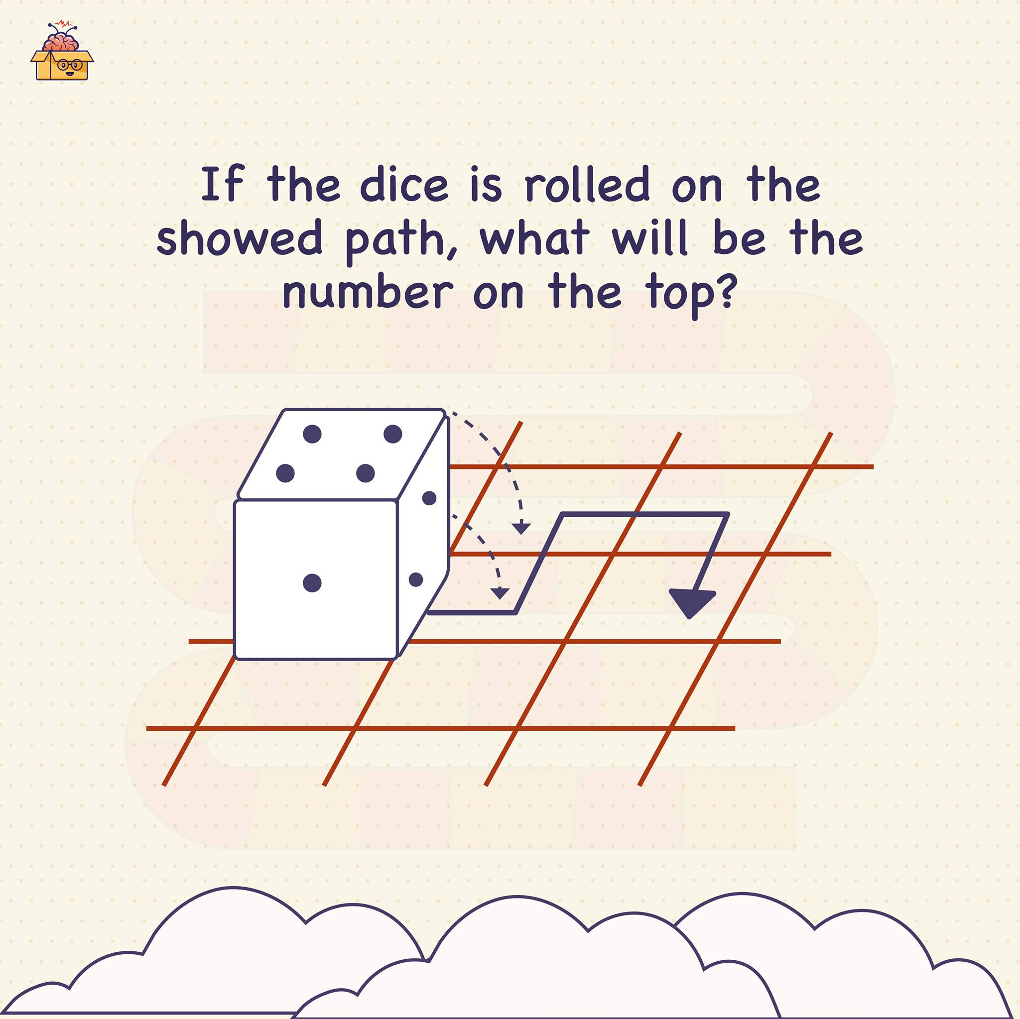"Hey Smart Brains, it's time for some ""dice"" puzzle.   Now, we bet this one is quite challenging — 9 out of 10 people CAN'T solve it.  So are you up for the challenge? Then quick, share your answers."
